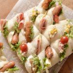 パーティーにもぴったり!オシャレで簡単ハイジの白パンちぎりサンドレシピ