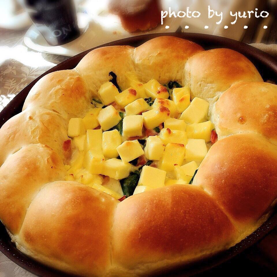 フライパンで作れる!オシャレで簡単♪ちぎりパンのアレンジレシピ